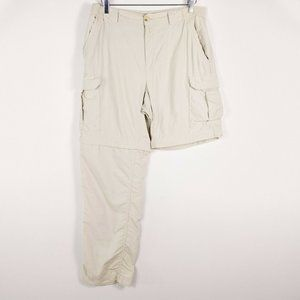 Columbia Mens Convertible Hiking Cargo Pants Short